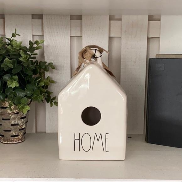 Rae Dunn Other - 🌿 NEW Rae Dunn HOME Birdhouse Ceramic 🌿